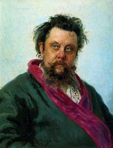 Mussorgski, por Repin