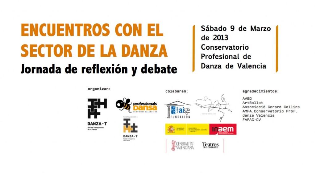 Encuentros Danza - Valencia 2013 Flyer