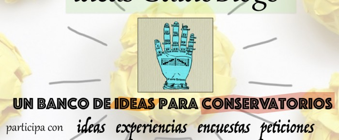 ideas GuidoBlogs | un banco de ideas para conservatorios