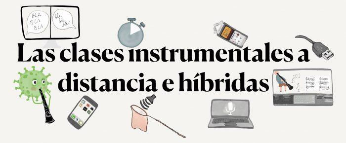 Curso sobre las Clases de Instrumento On-line e Híbridas